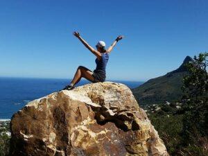 Girl, Freedom, Climbing, Hiking