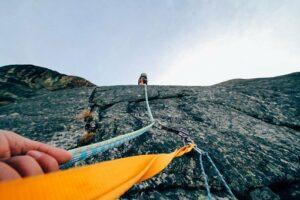Rock Climbing, Ropes, Rock Climber